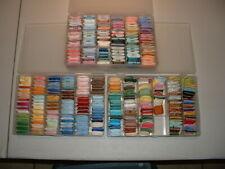 Lot 270 Carded Embroidery Floss/Thread w/Storage DMC