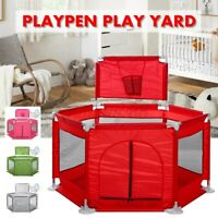 Baby Safety Play Yard Activity basket Toddler Folding Indoor Outdoot