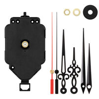 DIY Quartz Clock Movement Mechanism Repair Pendulum Swing Motor Hanger Kit Decor