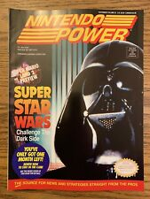 1992 NINTENDO Power Volume 42 magazine Super Star Wars Mario Land Batman Poster