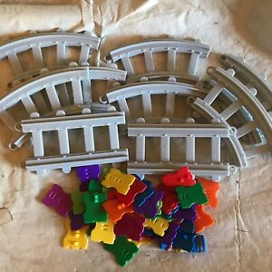 Melody Express Musical Train Track Lot     -(107/