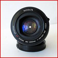 Sony A-Mount Minolta AF Zoom 80-200mm f4.5-5.6 Full-Frame Lens TESTED #592