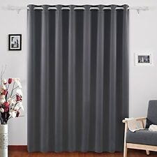 Deconovo Wide Width Grommet Thermal Insulated Blackout One Panel Window Curtain