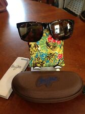 Black Polarized Sunglasses Maui Jim Red Sands 432 2m