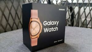 BRAND NEW! Samsung Galaxy Watch (42mm) Rose Gold (Bluetooth) SM-R810NZKAXAR