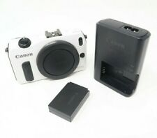 Canon EOS M Digital Camera - White - Body Only + Battery + Charger