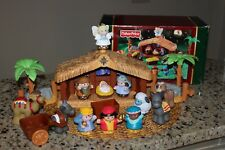 Fisher Price Christmas Story Little People Nativity Set