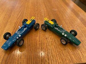 Pair of 1/24 Monogram Lotus 38 Home Set Cars