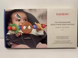 BABYBJORN Wooden Toy for Bouncer - Googly Eyes