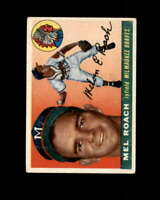 Mel Roach Card 1955 Topps #117 Milwaukee Braves