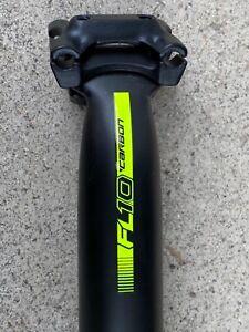 Scott Syncros FL1.0 Carbon Seatpost 25mm Offset 34.9m 400mm 224grams