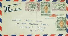 O) 1953 NIGERIA, LOGGING 1sh- QUEEN ELIZABETH- ARCHEOLOGY-OLOKUN HEAD-IFE-JEBBA