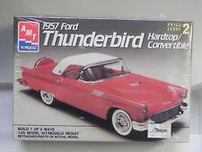 NEW Sealed 1989 AMT Ertl 1957 Ford Thunderbird 1:25 Model Kit 6516 Skill 2 TBird