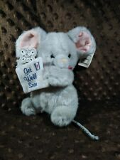"""Russ VERY RARE Vintage Berrie Get Well Soon Mouse 8"""" Plush"""