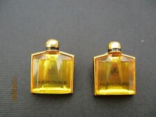Guerlain Paris Heritage parfum pin's lot 2 pièces pins Guerlain France