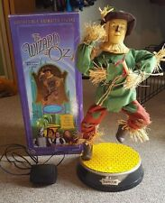 GEMMY The Wizard of Oz Electronic Scarecrow Figure Sings & Dances w/ box