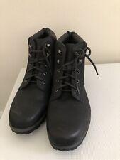 Women's F&F Flat Black Boots Size 8