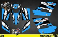 Kit Déco Quad pour / Atv Decal Kit for TGB Blade - Blue Strip