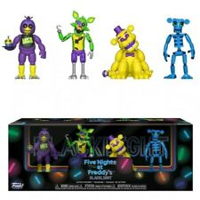 Five Nights at Freddy's Blacklight Exclusive 2-Inch Mini Figure 4-Pack 2