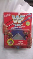 WWF Grudge Match Goldust VS. Savio Vega Figures & Boxing Ring 1997 NEW t648