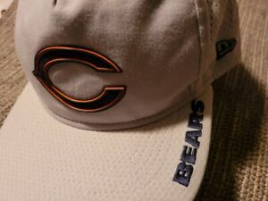 ACTUAL TEAM Player  ISSUED Worn CHICAGO BEARS NEW ERA NFL SNAPBACK HAT CAP