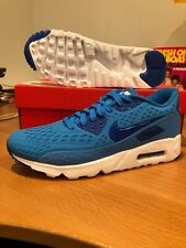 New Nike Air Max 90 Ultra BR Navy Blue Premium Hyperfuse Light Weight Sz 9