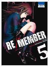manga Re/Member Tome 5 Seinen MURASE Katsutoshi Welzard Ki-Oon ! horreur カラダ探し