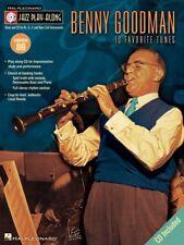 Benny Goodman Jazz Play Along Book and CD NEW 000843110