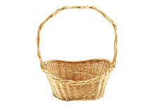 Geschenkkorb oval 40x25x18 braun Weide