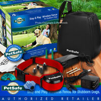 PetSafe Stay and Play Stubborn Dog Wireless Fence Collar System PIF00-13663