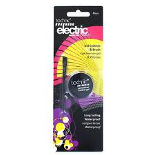 Black Technic Electric Beauty GEL Eyeliner and Brush Waterproof Long Lasting