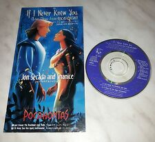 CD POCAHONTAS - JON SECADA AND SHANICE - IF I NEVER KNEW YOU - PCDD-00004 JAPAN