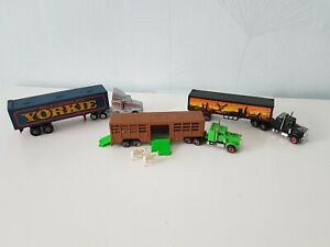 Majorette - 3 Trucks/Lorries/Trailers - Vintage Diescast Models
