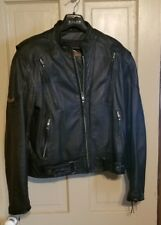 GENUINE HARLEY DAVIDSON MEN'S M LEATHER JACKET - NICE!