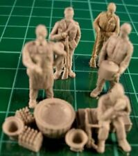 Milicast FIG014 1/76 Resin WWII US Marines for Amtracs and Landing Craft