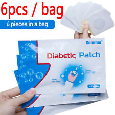 6pc/bag Diabetic Patch Herbal Cure Lower Blood Glucose Treatment Balance Plaster