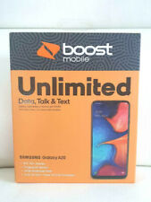 Samsung Galaxy A20 32GB Smartphone Boost Mobile  Free 1st Month &2 EXTRA GIFTS