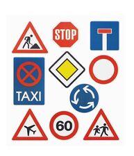 Sticker Einladung 18. Führerschein Geburtstag Scapbooking Verkehrsschilder Auto