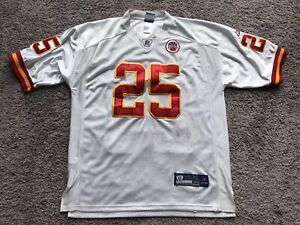 Reebok On Field Jersey Kansas City Chiefs J Charles #25 Men's Size 50