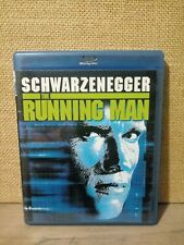 The Running Man (Blu-ray Disc, 1987) Arnold Schwarzenegger OOP.Disc Is Mint.