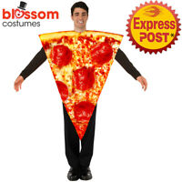 CA851 Pizza Tunic Fancy Dress Food Funny Novelty Mens Womens Stag Hens Costume