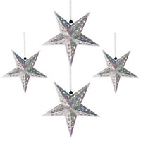1 Set Creative Festive Party Decoration Star Lantern Lampshade