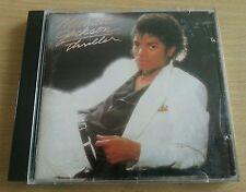 Thriller - Michael Jackson - CD Album - 1982 - early CD version of this album