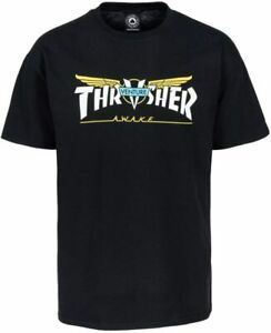 Thrasher Skateboard Park Street T-Shirt Venture Collab schwarz