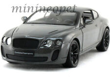 WELLY 24018 BENTLEY CONTINENTAL SUPERSPORTS COUPE 1/24 DIECAST GREY