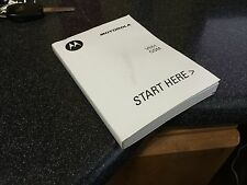 Motorola Motomanual V551 GSM Cell Phone Flip Cellular Manual Guide Book *LOOK*