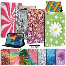 "For Samsung Galaxy Tab A A6 7.0 9.7 10.1 10.5/E 9.6""tablet Fold Stand Case Cover"