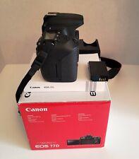 Canon EOS 77D 24.2 MP Digital SLR Camera - Black (Body Only)