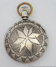 Hand Decorated Rockford Pocket Watch New listing
