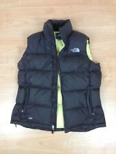 Womens The North Face Nuptse Goose Down 700 Gilet Vest Size L